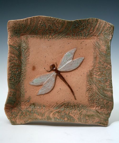 Small Square Dragonfly Dish