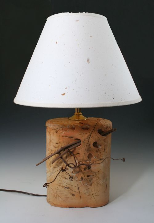 Twig and Leaf Lamp