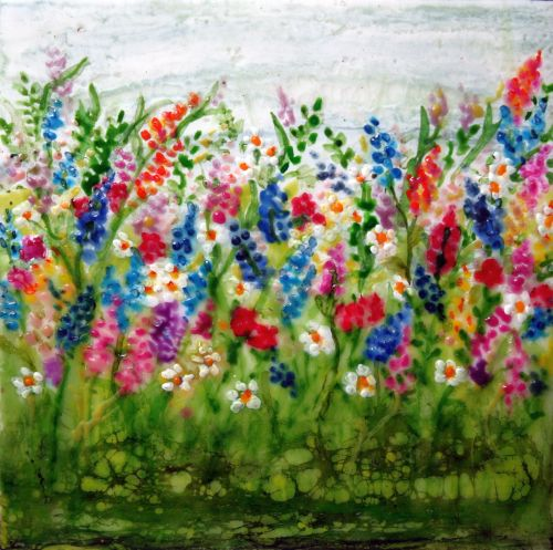 Field of Flowers 6 x 6