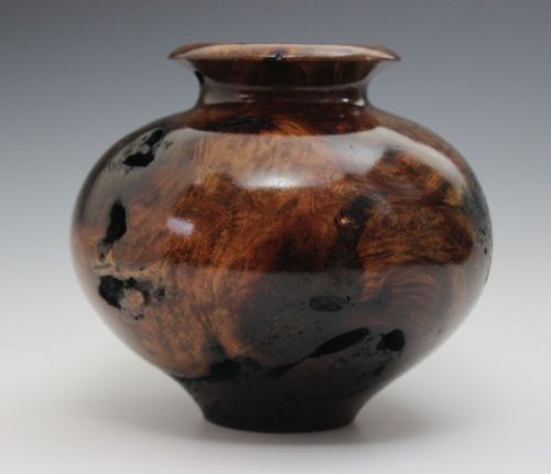 Mesquite Burl Medium Vase approximately $150-$180
