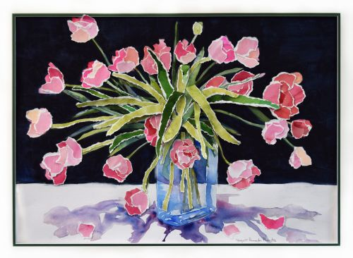 Tulips for Molly 33 x 41 Framed $875