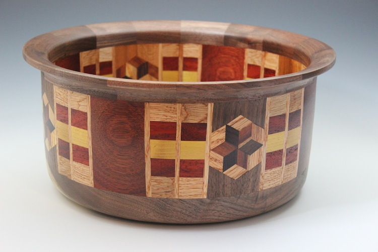Wide Segmented Bowl