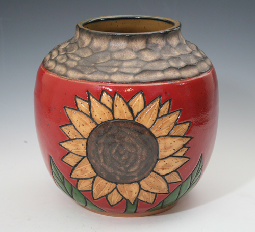 Medium Sunflower Vase